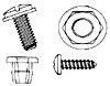 Part Photo: License Plate Fasteners
